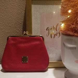 Dooney and Bourke leather coin bag